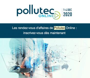 Pollutec online du 1er au 4 décembre 2020, les rendez-vous d'affaires !