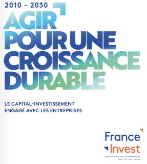 Premier rapport Finance Durable de France Invest disponible dès maintenant !