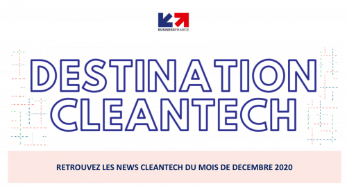 Destination Cleantech #Décembre 2020