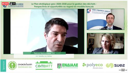 Plan stratégique Grèce 2020 – 2030 Gestion des déchets