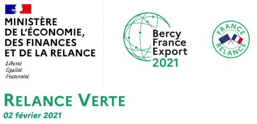 Suivi Bercy France Export – les présentations, ateliers et participants 02/02/2021