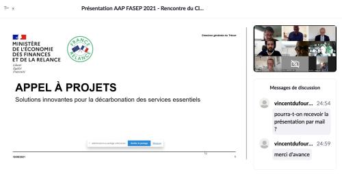 FASEP « Solutions innovantes pour la décarbonation des services essentiels » jusqu'au 15/09/21