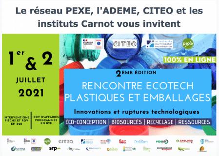 Participez à la Rencontre Ecotech Plastiques et emballages !