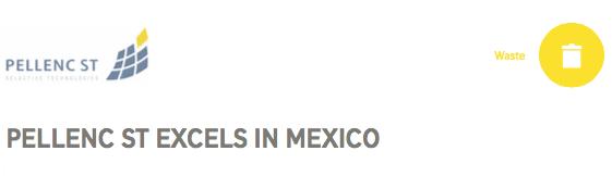 PELLENC ST Mexico project