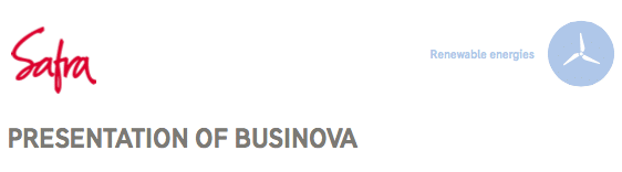 SAFRA and the Businova project