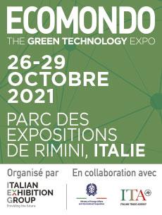 Salon ECOMONDO à Rimini en Italie en partenariat avec le Club ADEME International
